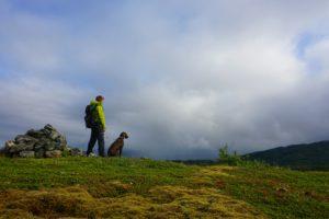 Brage og Karo på Lissfjellet