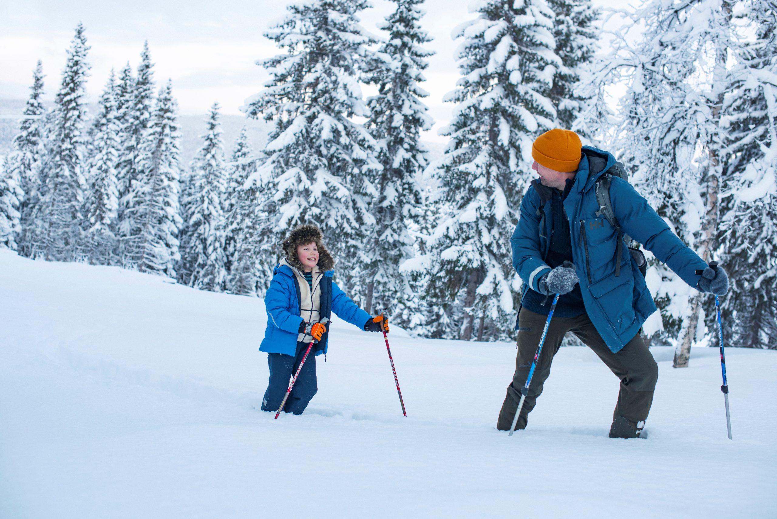 Vinterferie i Namdalen. Foto: Marius Rua / Buckethaus