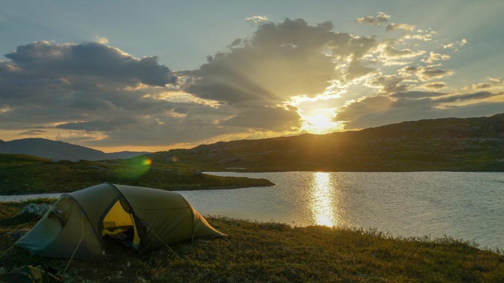 Sove ute: Steder å telte eller henge opp hengekøya