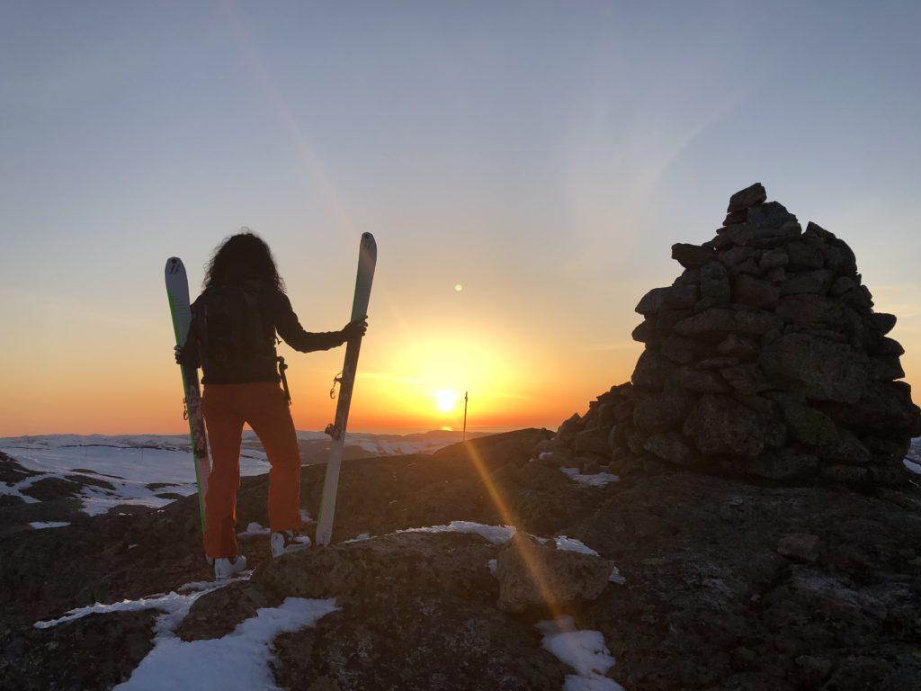 Seks toppturer på vinteren – randonee eller fjellski