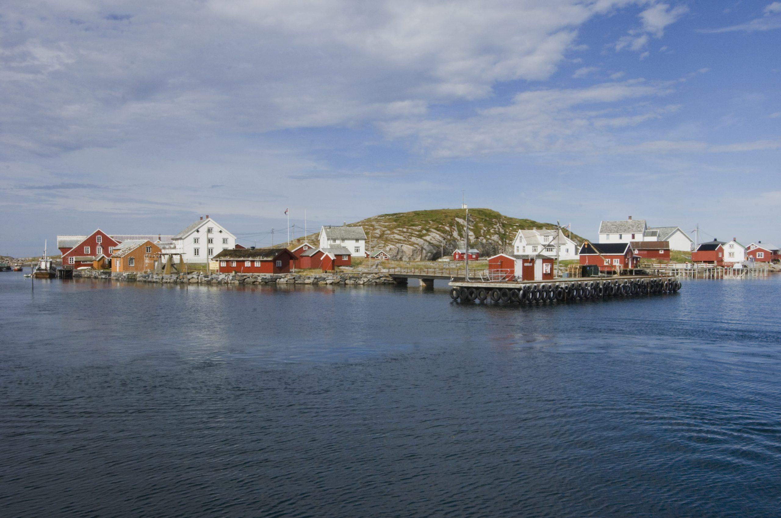 Illustasjonsbilde av Sør-Gjæslingan i Nærøysund