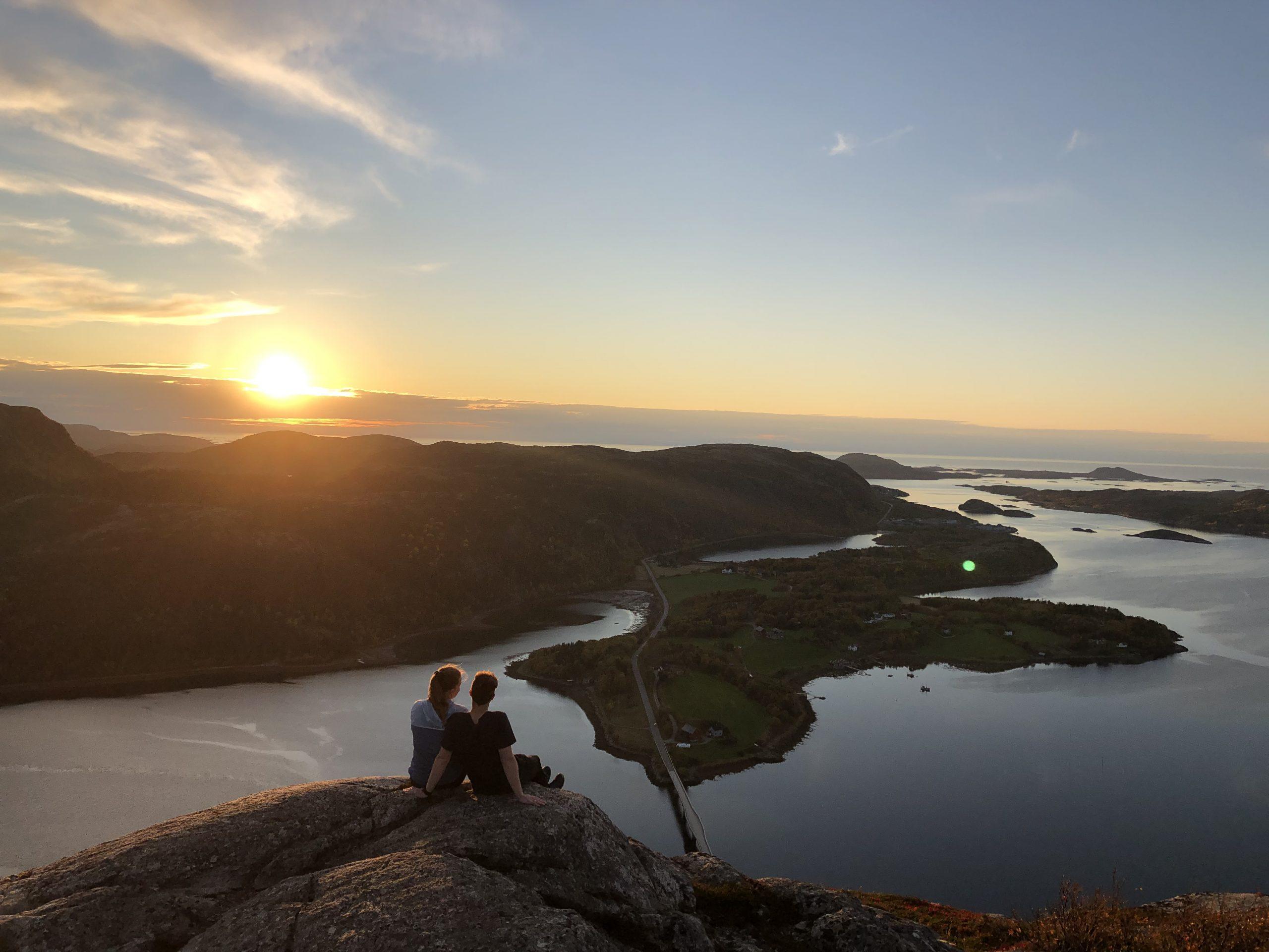 Storfjellet, en av flere ting å gjøre i Flatanger. . Foto: Bente Snildal