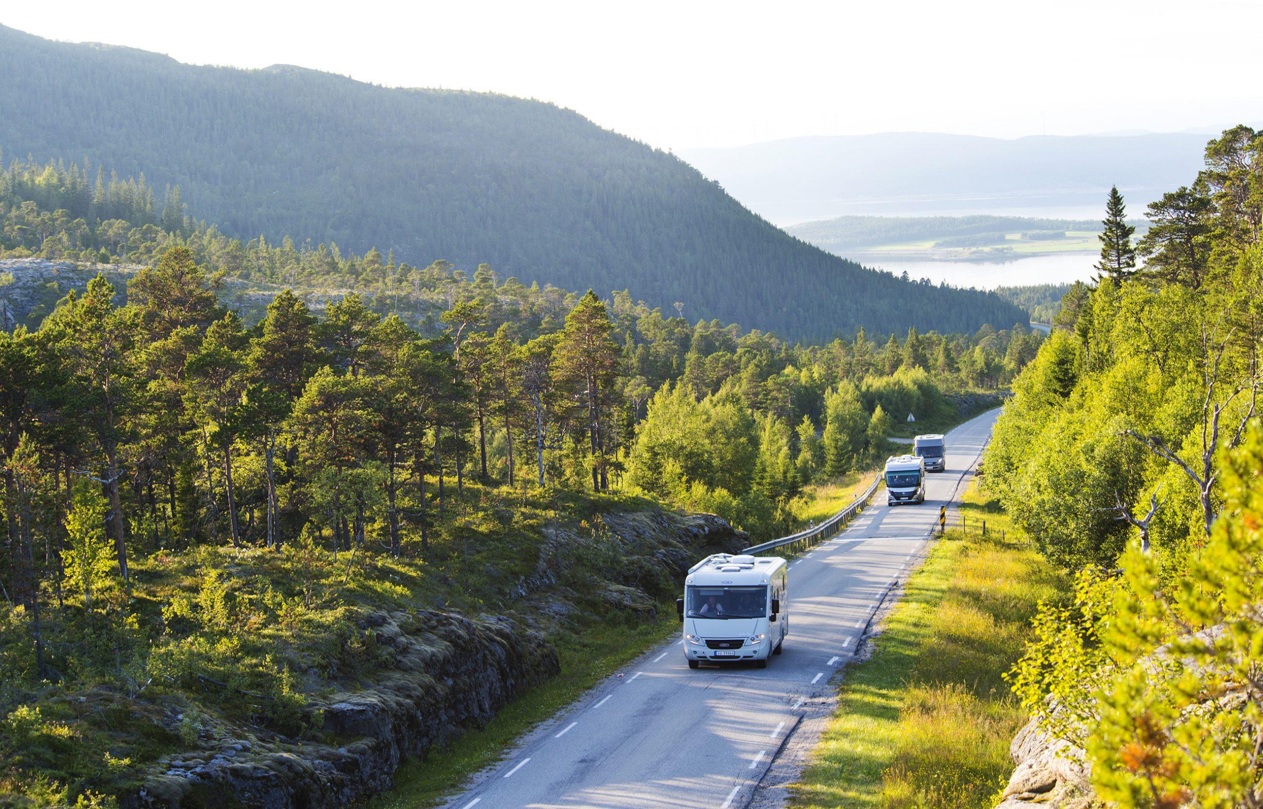 Camping- og bobilferie i Namdalen. Foto: Olav Breen/Kystriksveien Reiseliv