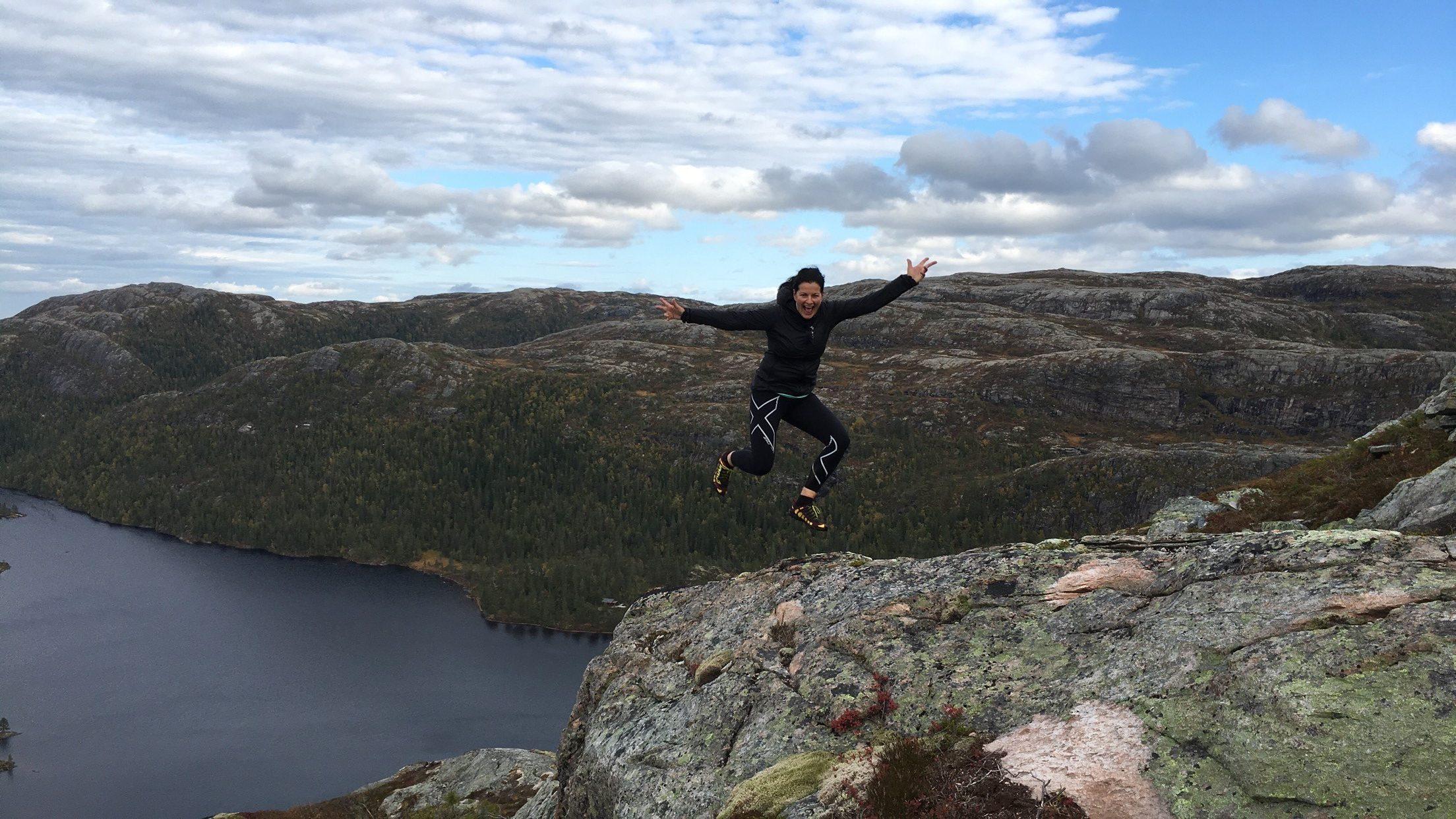 Fjelltur i Namsos, Barstadbøla. Foto: Bente Snildal.