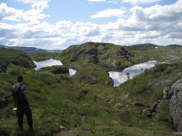 En helt vill omvei. Foto: Ingulfsvann Vestre
