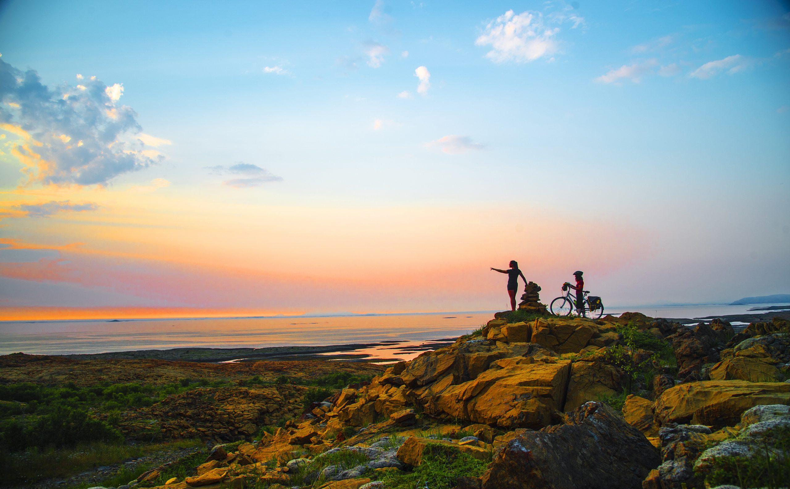 Aktiv ferie på Leka. Foto: Olav Breen /Kystriksveien Reiseliv