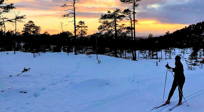 Ski og vinterlys i Namdalen, Trøndelag