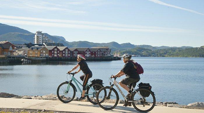 Sykkelopplevelser med Namsos som base